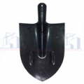 Лопата Штык, б/чер, сталь РЕЛЬС 1,5мм  острокон копальная М2,3 Матик