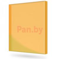 Монолитный поликарбонат 3 мм оранжевый 2*3 м