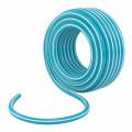 Шланг полив КЛЕВЕР 3/4 25м армир непрозр. голуб/белый