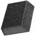 Губка шлифовальная алюм.-оксидная Р180 100*70*25мм 38355