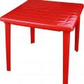 СТОЛ пластм квадратный красный (800х800х710мм) Белгород