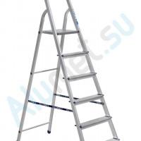 Стремянка 6-ступ металл /в тч площадка/1,31м до 150кг
