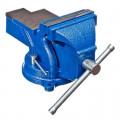 668-016 ЕРМАК Мастер Тиски слесарные, поворотные с вакуумной присоской 75мм