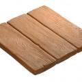 """Тротуарная плитка """"Деревянные дощечки"""" 46*46 см, 4"""