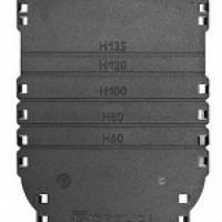 Торцевая заглушка для лотка водоотвод. пластик Gidrolica Standart DN150 арт.18151